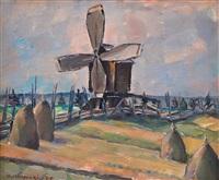 windmill by väinö kamppuri