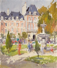 place des vosges by paul jean anderbouhr