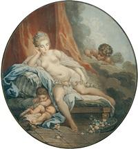 vénus en réflexion (+ le sommeil d´ariane; pair after jacques charlier) by jean françois janinet