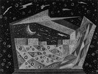 ii° teatrino futurista scena: al chiaro di luna by agibecifuturista