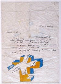 paris letter by lawrence weiner