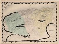 algérie, positions prises et de repli by pierre alechinsky