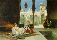 in the harem by juan gimenez y martin