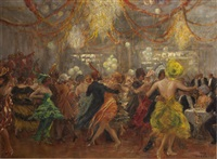 faschingsball (carnival) by max friedrich rabes