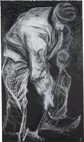 drawing from van gogh xiii by jim dine