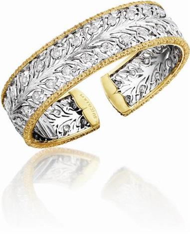 cuff bracelet by buccellati