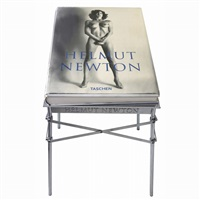 sumo-helmut newton edited by june newton, monte carlo (book w/stand) by helmut newton