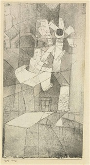 band-blume by paul klee