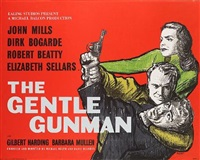 the gentle gunman (+ the rainbow jacket; 2 posters) by james boswell