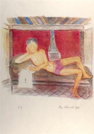 la meditation de gabriel by pierre klossowski