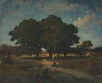 les grands chênes by jean emile renié