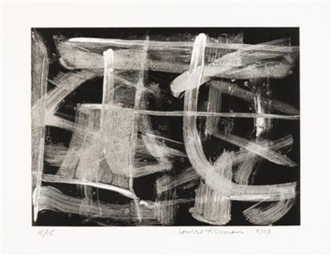black and white pl1 3 others 4 works by louise fishman