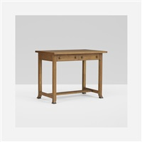 desk from the imperial hotel, tokyo, japan by frank lloyd wright