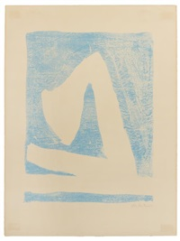 summer in italy with blue by robert motherwell