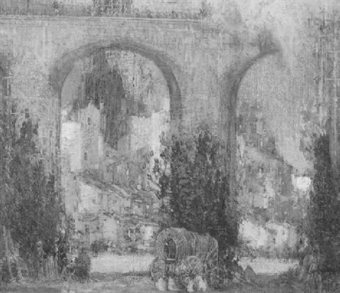 bridge at albi by george wharton edwards
