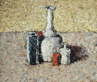 still life after morandi from pictures of magazines by vik muniz