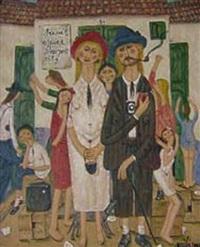 les touristes by oscar arcila