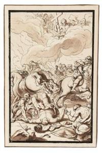 die bekehrung des saulus by peter strudel von strudendorff