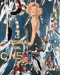 marilyn smiling by mimmo rotella