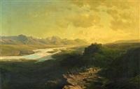 sommerabend by leopold heinrich vöscher