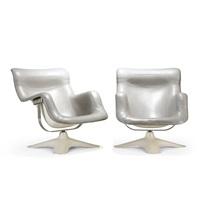 karuselli armchairs (pair) by yrjö kukkapuro