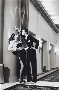 hotel george v, for french vogue, paris by helmut newton