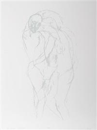 the lovers by leon golub