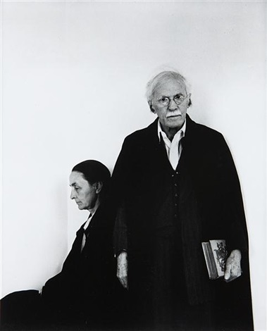 alfred stieglitz georgia okeeffe an american place by arnold newman