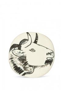 profil de taureau by pablo picasso