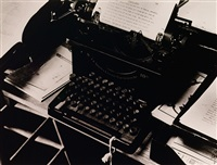 charis weston's typewriter by beaumont newhall