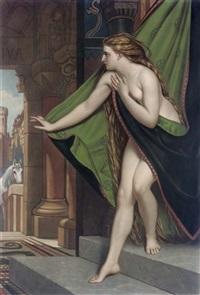 lady godiva (by thomas lewis atkinson) by joseph henri françois van lerius
