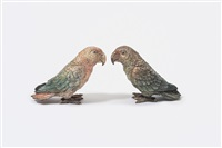 lovebirds (pair) by austrian school-vienna (20)
