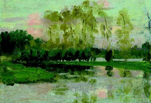 landscape by emanuel phillips fox