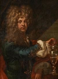 portrait masculin by hyacinthe rigaud