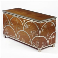 blanket chest by axel gustafsson