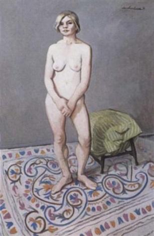 nude and nundah rug by ian armstrong