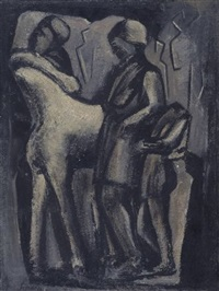 frammento etrusco by mario sironi