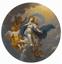 the assumption of the virgin by rené antoine houasse