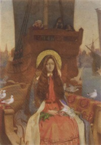 the legend of our lady of boulogne by ernest board