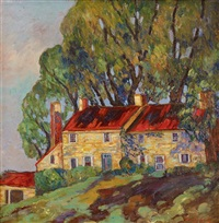 house on a hill by fern isabel coppedge