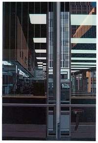 cash 40 (from urban landscapes ii) by richard estes