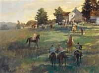 a gathering near alfred, maine by john gable