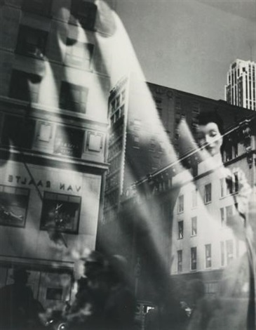 reflections new york by lisette model