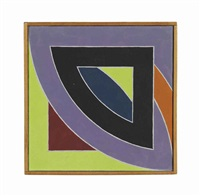 frank stella 'river of ponds,' 1969 by richard pettibone