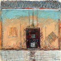 untitled (from the good fence series) by pinchas abramovich