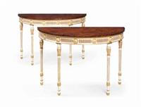 pier tables (pair) by arthur brett