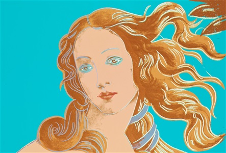 venus from details of renaissance paintings sandro botticelli birth of venus 1482 by andy warhol