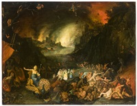 junon sollicitant les enfers by jan brueghel the younger
