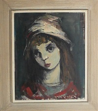 portrait of a girl by esther peretz arad