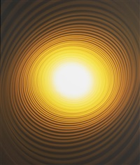 untitled (yellow spiral) by adam fuss